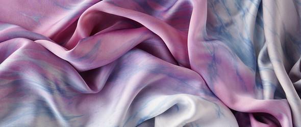 想做一条行云流水的丝巾