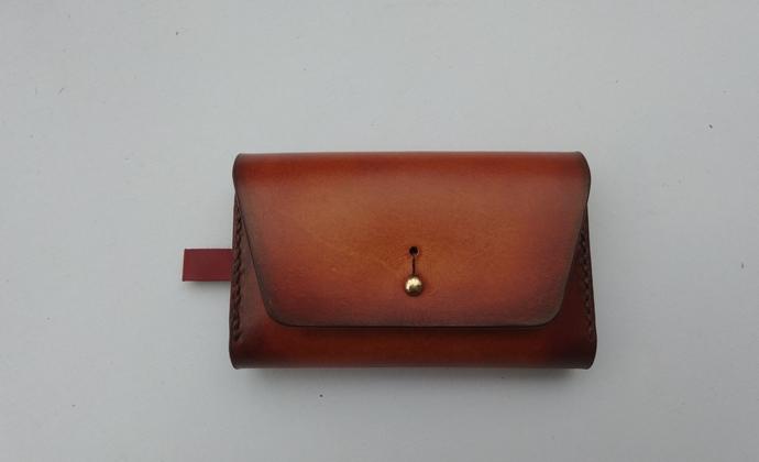 植鞣皮两用钥匙包 卡包