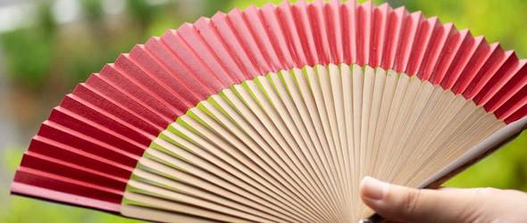 京扇子   一千年的炎凉与风骚