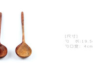 【善物工坊】纯手工长柄木勺子