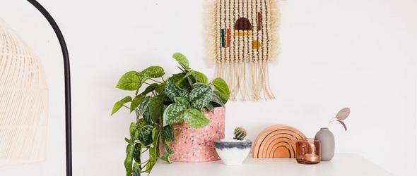 DIY结绳挂毯 / DIY Macrame Wall Hanging