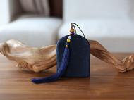 花暖 原创设计 手工刺绣 十二生肖钥匙包民族风配饰中国风礼物 牛