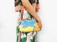 布艺包包,从图案的设计到缝制都是十分走心的哦,欢迎定制!