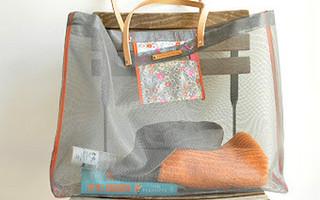 DIY简约镂空透明包包