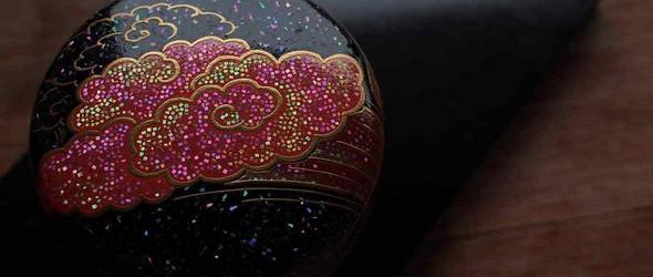 闪耀着的莳绘螺钿器物 | 日本莳绘师伯兆作品赏析
