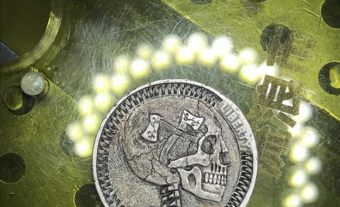 流浪者硬币,吊坠。