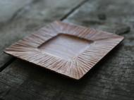 目纹早餐木盘(6吋)