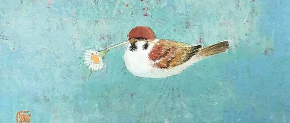安静的日本花鸟画 | Masamune Kikuchi