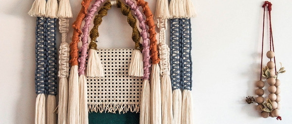 民族风的手工编织挂毯 | Ranran Design