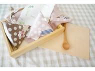 棉麻三角零钱包