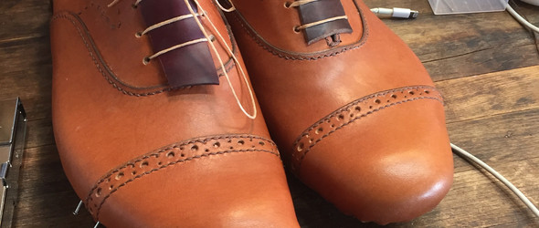 Shoemaking制鞋:一双定制手工鞋的完整制作过程