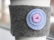 羊毛毡咖啡杯隔热套