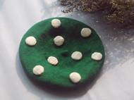 祖母绿蘑菇帽