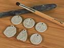 银拓丨关于银泥吊坠的制作