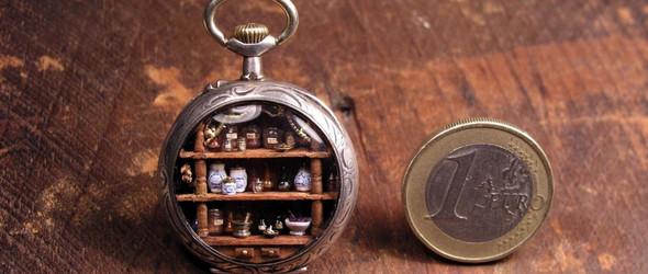 古董怀表中的微观世界 | Gregory Grozos
