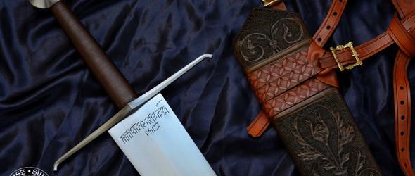 波兰铸剑师 Mateusz Sulowski 与中世纪宝剑(含部分制作过程)
