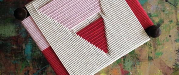当代设计让传统工艺焕发新生 | 英国设计师 Jo Elbourne 几何风格的编织用品
