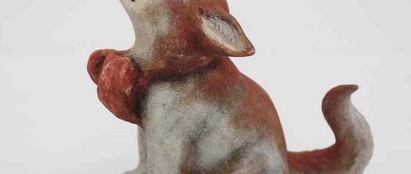 憨态可掬的木雕冬动物 |平良 光子