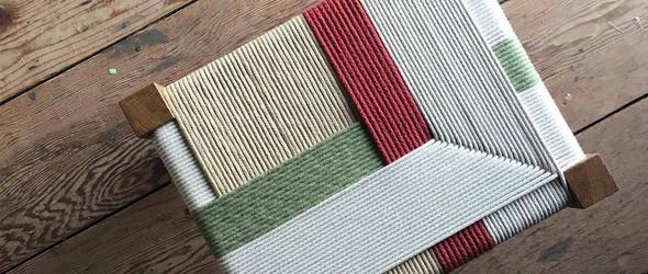 一边是加法,一边是减法,却让传统编织焕发新生 | Jo Elbourne