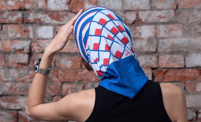 意品造物玩酷子弟风尚Liberty Geo魔术头巾