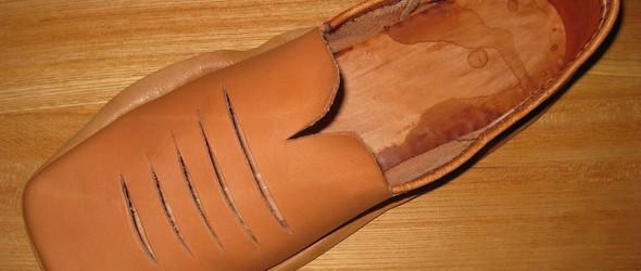 玛丽玫瑰号2号鞋(Mary Rose Type 2.4)军鞋复刻制作过程