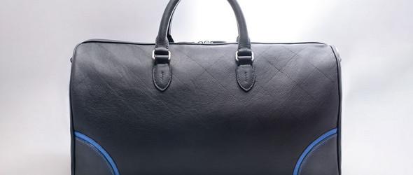 手工皮具制作 | 周末旅行手提包(Weekender bag)手工制作过程