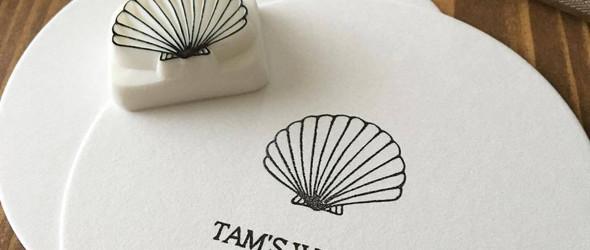 橡皮章物语兼日本橡皮章雕刻达人 azusa tamura 的作品赏析
