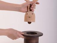 创意实木婚戒包装盒