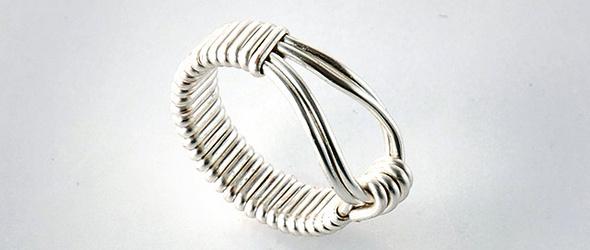 【教程】简单的金属线造型戒指