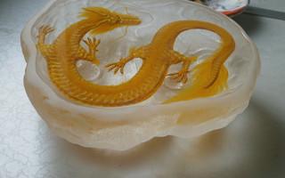 3D树脂画 琥珀云中龙