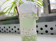 初夏的气息——清新绿色系水杯袋与收纳包
