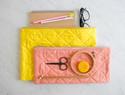 手工布艺DIY教程:绗缝拉链袋制作过程