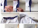 DIY手缝内裤模板与图解