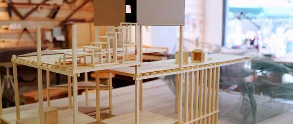 筑巢 | 木与石的结合——the shelter 2.1 模型完成