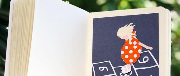 Maria Chernyadieva:剪纸与拼贴结合的儿童绘本