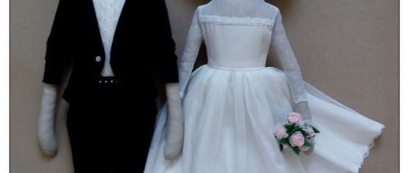 一对新婚娃娃的制作花絮