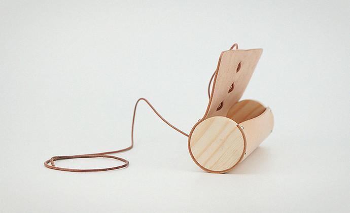 MISKART 手工牛皮绕线 铅笔盒 文具 化妆包 收纳盒 笔袋 礼物gift