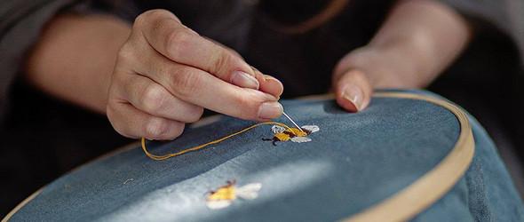 不热爱生活和自然,怎么绣出如此美好? 小清新的刺绣来自LaPetiteAlice