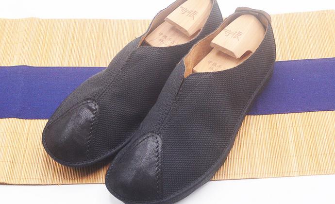手工男鞋 亚麻拼接中国风轻底布鞋