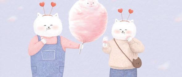 彩铅里的成人童话 | 韩国插画师@Ramzy 作品选集
