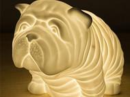 意品造物创意法斗陶瓷台灯
