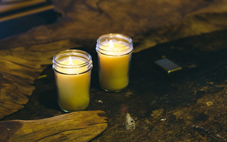 手工制作蜂蜡蜡烛(烛台)DIY教程