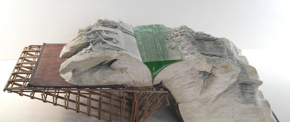 书雕与树脂组合的雕塑 | Otoniel Borda