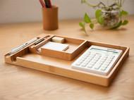 梵瀚留言板便签夹座 a4书写板夹创意家用办公室桌面文件收纳盒