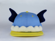 张可爱原创春夏欧美潮范棒球帽休闲帽亲子款 飞天小象 天蓝 腔调