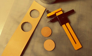 #皮革工具#削圆机器