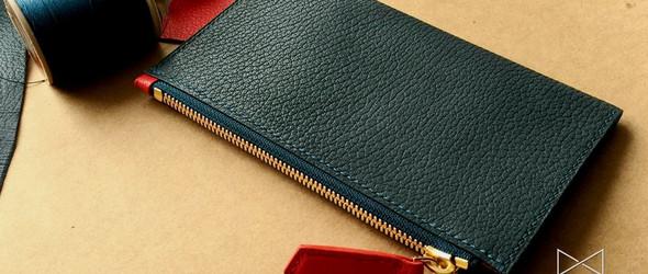 【Stefanie】紧凑型拉链钱包 制作手记