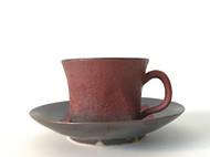 【轮笠伸好】咖啡杯皿套装 日本直邮