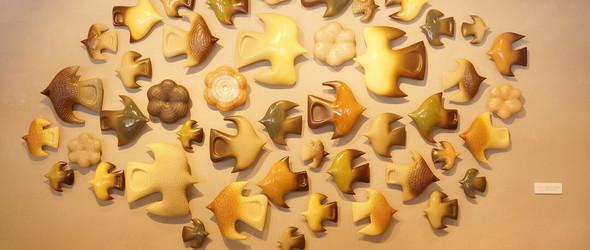 鸟的世界 | 日本陶艺家伊藤利江的小鸟陶瓷器物