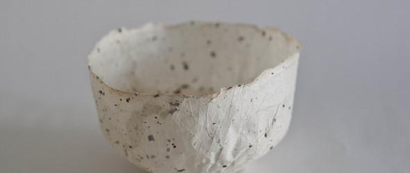 """艺术家 Tatiana Ginsberg 的""""100 Days""""和纸纸碗项目"""